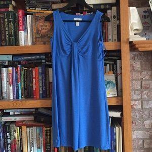 LOFT Blue spring dress